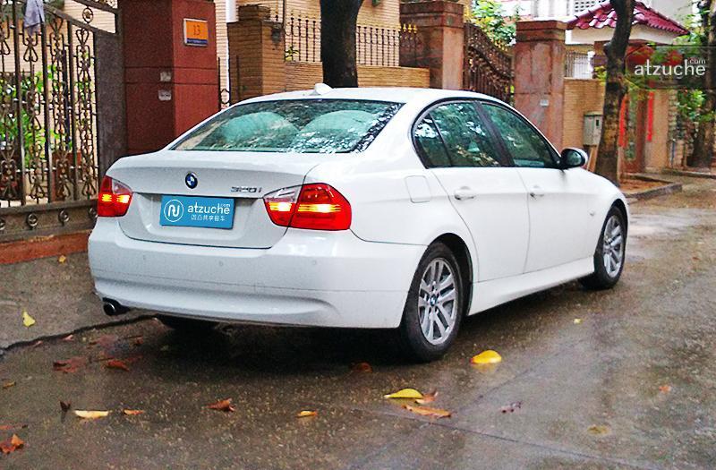 深圳市宝安区2008年宝马3系租赁价格-凹凸个人租车平台