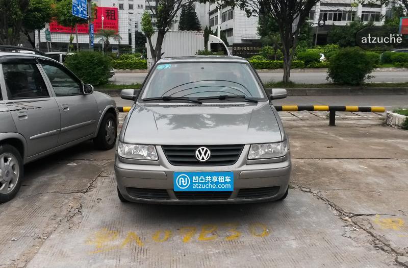 广州市番禺区2009年大众捷达租赁价格-凹凸个人租车