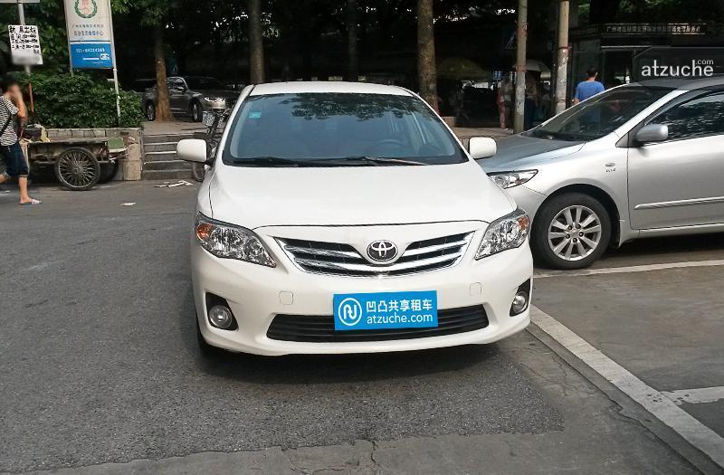 广州市番禺区2013年丰田卡罗拉租赁价格-凹凸个人租车