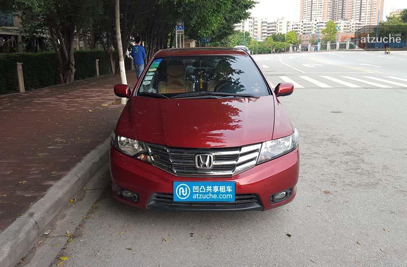 广州市荔湾区2013年本田锋范租赁价格-凹凸个人租车