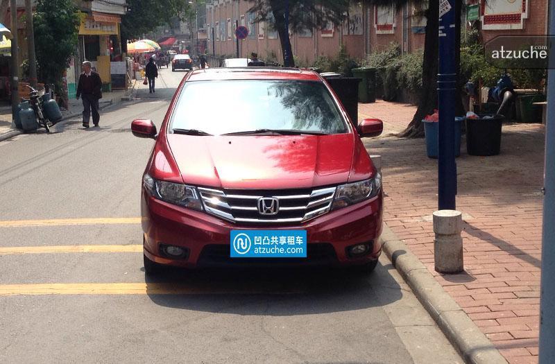 广州市海珠区2012年本田锋范租赁价格-凹凸个人租车