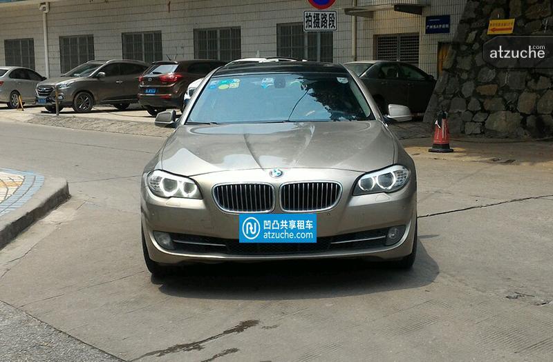 广州市天河区2011年宝马5系租赁价格-凹凸个人租车平台