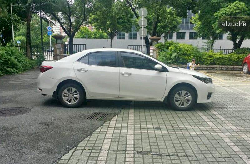 广州市海珠区2015年丰田卡罗拉租赁价格-凹凸个人租车