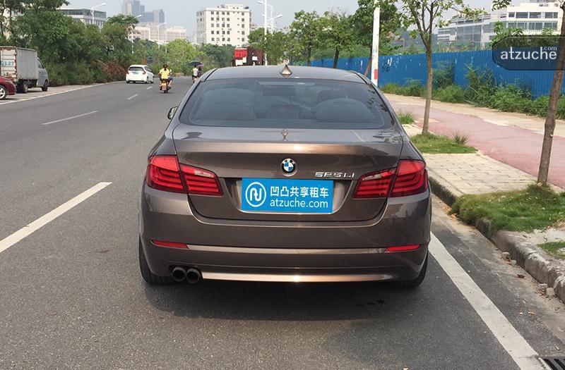 广州市番禺区2013年宝马5系租赁价格-凹凸个人租车平台