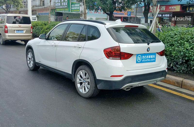 广州市黄埔区2013年宝马x1租赁价格-凹凸个人租车平台