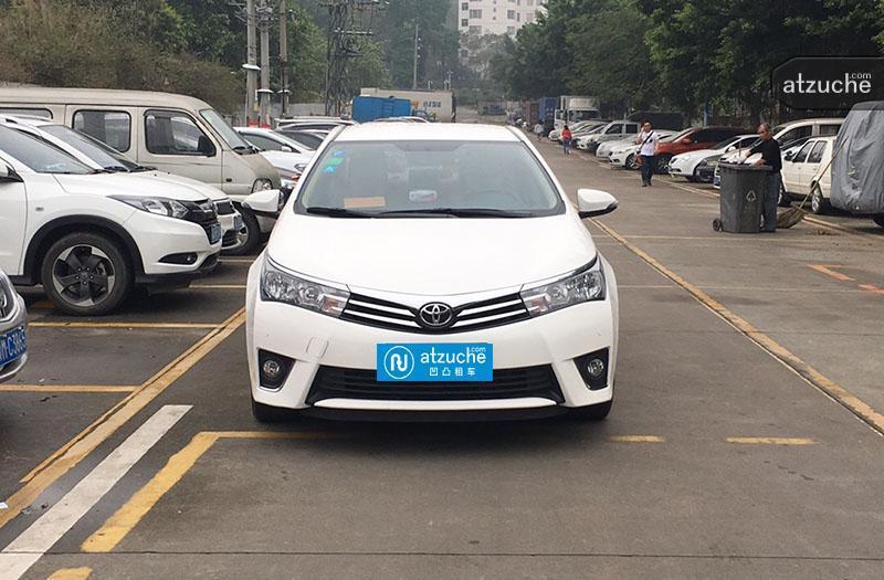 广州市天河区2016年丰田卡罗拉租赁价格-凹凸个人租车