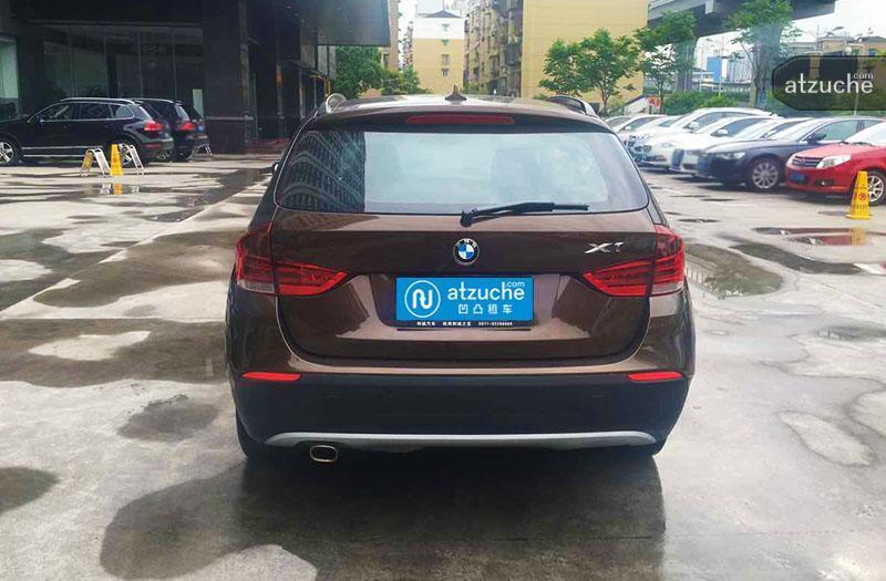 杭州市拱墅区2012年宝马x1租赁价格-凹凸个人租车平台